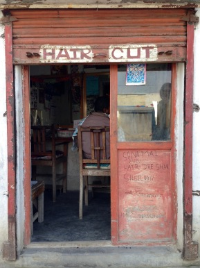 Video diary: haircut in Nepal