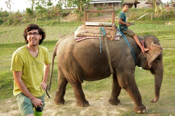 z miki and elephant.JPG