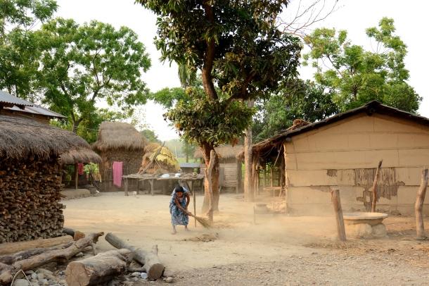 z tharu village life.JPG