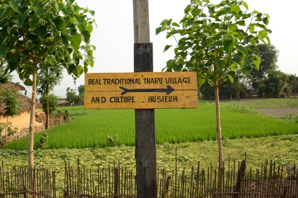 z tharu village sign.JPG