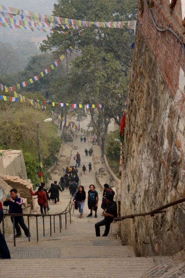 2 Swayambhu stairs