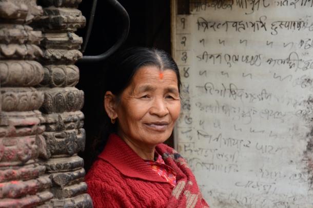 2 Swayambhu woman