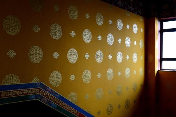 3 Namo Buddha monastery wall
