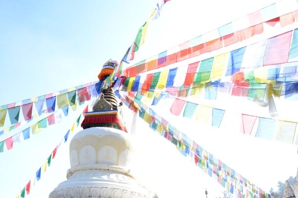 3 Namo Buddha stupa top