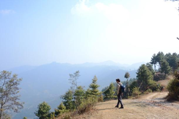 3 Namo Buddha walk way