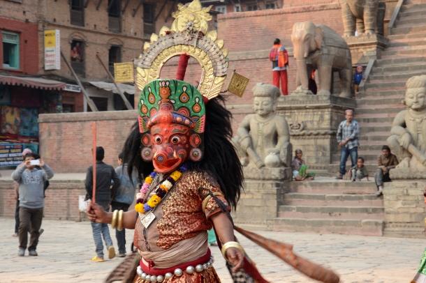 4 Bhaktapur festival mask