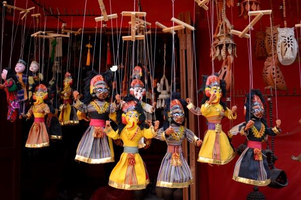 4 Bhaktapur marionetes